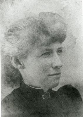 Helen Robina (Foote) McGrandle, c. 1900