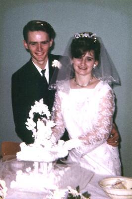 Wedding of Robert & Lorraine Kirk, Dec 2, 1967