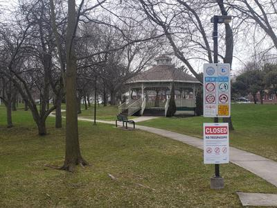 Centennial Park Closure