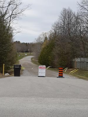 Ashburn Park Closed