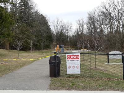 Myrtle Community Park Closed