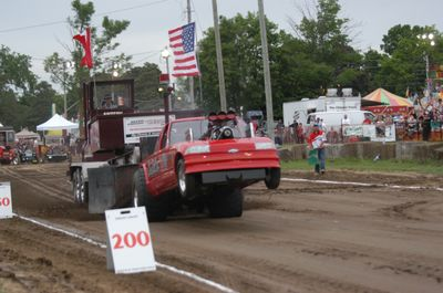 Truck Pull at the Brooklin Spring Fair, June 4, 2010