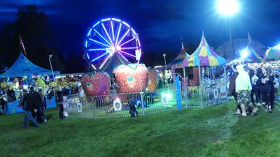 The Midway at the Brooklin Spring Fair, June 6, 2017