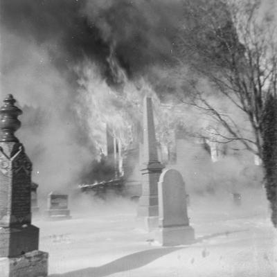 Burns Presbyterian Church and Cemetery, 1967
