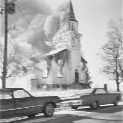 Burns Presbyterian Church, 1967