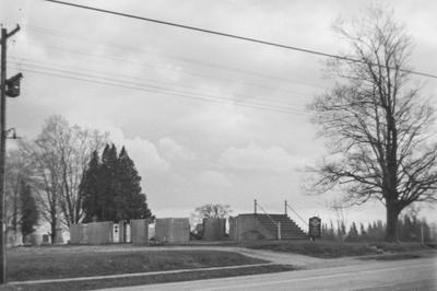 Burns Presbyterian Church Ruins, 1967