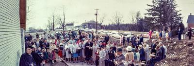 Dedication of Burns Presbyterian Church, 1968