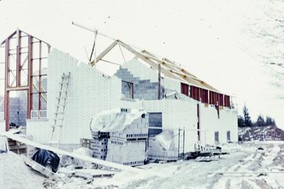 Construction of Burns Presbyterian Church, 1967/68