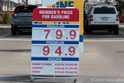 Early Lockdown Gas Prices