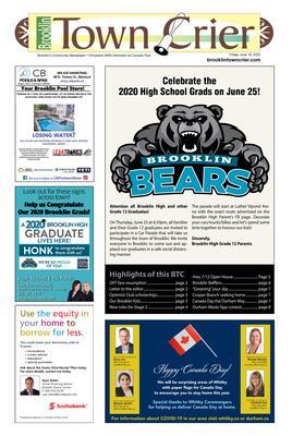 Brooklin Town Crier, 19 Jun 2020