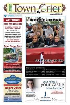 Brooklin Town Crier, 10 Jul 2020