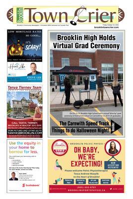 Brooklin Town Crier, 23 Oct 2020