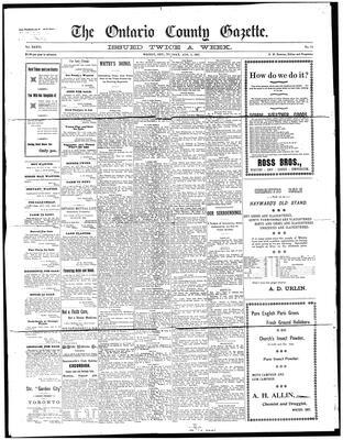 Ontario County Gazette, 3 Aug 1897