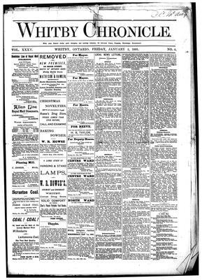 Whitby Chronicle, 2 Jan 1891