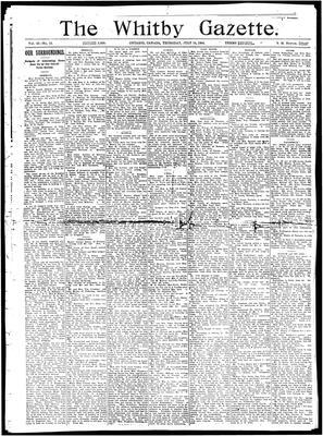 Whitby Gazette, 14 Jul 1904