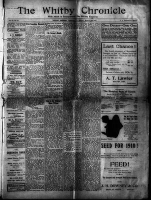 Whitby Chronicle, 17 Mar 1910
