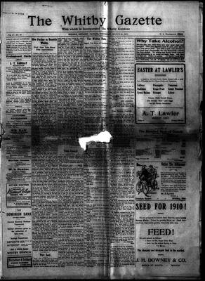 Whitby Gazette, 24 Mar 1910