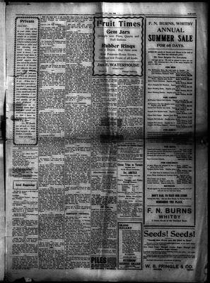 Whitby Gazette, 11 Aug 1910