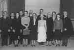 Cast of play at All Saints' Anglican Church, 1936