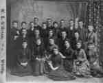 St. Andrew's Presbyterian Church Choir, c.1885