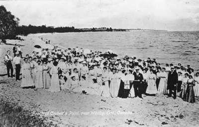 Picnic at Corbett's Point 1913