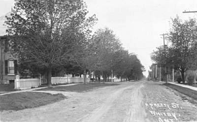 Green Street looking South, 1912