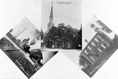Photographic Postcards of Brooklin, c.1912