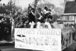 Rotary Minstrels in Blackface at Whitby Dunlops Allan Cup Parade, 1957