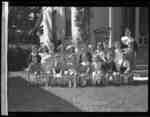 Dorothy Donald and preschool class (Image 2 of 3), 1946