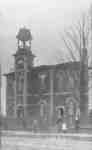 Brooklin Public School and Bell Tower, 1907