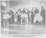 Massage Room at Military Convalescent Hospital, 1917