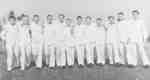 Ten Male Nurses at Ontario Hospital Whitby, 1940