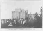 Exterior of Ontario Ladies' College, 1874