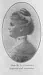 Mary Louise Copeland, 1906