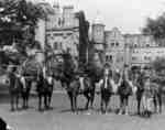 Riding Class in Front of Ontario Ladies' College, c.1936