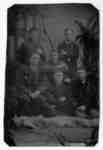 Portrait of Six Unidentified Men