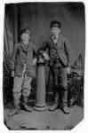 Portrait of Two Unidentified Boys