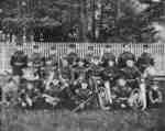 Signal Corps at Niagara-on-the-Lake Camp, 1908