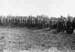 116th Battalion Soldiers at Military Review, 1916