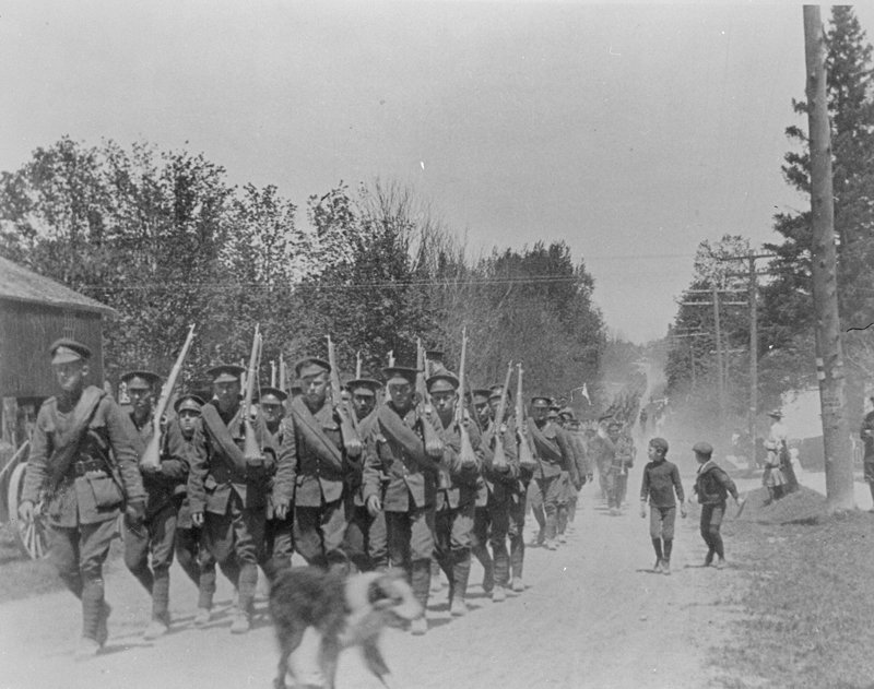 116th Battalion Soldiers, 1916