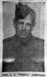 """Portrait Photograph of Private Lloyd Clifford (""""Perry"""") Johnson"""