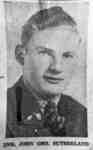 Portrait Photograph of Gunner John George Sutherland, c.1943