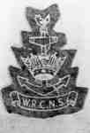 Photo of WOMEN'S ROYAL CANADIAN NAVAL SERVICE (W.R.C.N.S.) crest