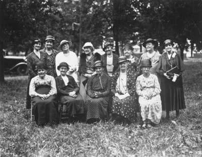 Whitby Womens' Institute 35th Anniversary, June 1934
