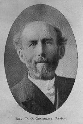 Reverend D. O. Crossley, 1908