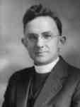 Reverend A. L. Richards, c. 1933.