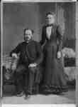 Reverend John Bedford and Mrs. Bedford, c. 1890.