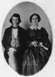 Mr. James and Mrs. Orilla Holden, 1858