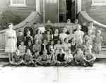 Class Photo, Grades 4 - 6, Brooklin Public School, 1946-1947