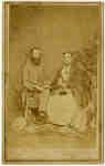 Mr. John Lawrence Smith and Mrs. John Lawrence Smith (Elizabeth Strickland), c.1868